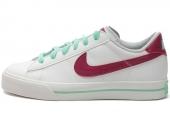 NIKE 354496-136  Wmns Sweet Classic Leather 白色女子休闲板鞋