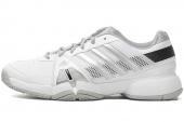 adidas Q35151 Barricade Team 3 白色男子网球鞋