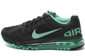 NIKE 555363-030 Wmns Air Max+ 2013 黑色女子跑步鞋