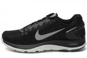 NIKE 615980-001 WMNS Lunarglide+ 5 黑色女子跑步鞋