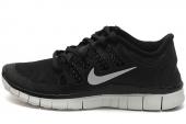 NIKE 615987-001 WMNS Free 5.0+ Shield 赤足系列黑色女子跑步鞋