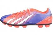 adidas G95009 F5 TRX HG F50系列漩涡荧光红男子足球鞋