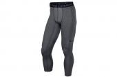 449822-021 NIKE Pro Combat Core 2.0 灰色男子弹力紧身裤