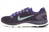NIKE 599395-535 WMNS Lunarglide+ 5 紫色女子跑步鞋