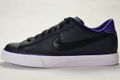 NIKE 318333-096 Sweet Classic Leather 黑色男子休闲板鞋