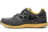 NIKE 599513-007 Dual Fusion Lite 灰色男子跑步鞋