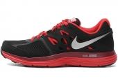 NIKE 599513-004 Dual Fusion Lite 黑红色男子跑步鞋