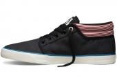 Converse 140852 Silo 质感系列黑色男子硫化鞋