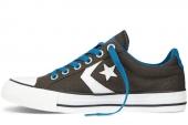 Converse 141512 Star Player 街头达人系列鲸灰色中性硫化鞋