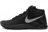 NIKE 616097-001 Free Trnr 3.0 Mid Shield 黑色男子训练鞋