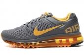 NIKE 555363-080  Wmns Air Max+ 2013 灰色女子跑步鞋