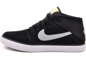 NIKE 525310-041 Suketo Mid Leather 黑色男子休闲板鞋