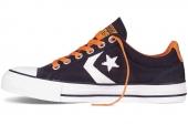Converse 141511 Star Player 街头达人系列藏蓝色中性帆布鞋