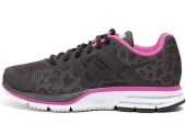 NIKE 616307-006  WMNS Air Pegasus+ 30 Shield 黑灰色女子跑步鞋