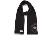 Converse 05614C002 匡威黑灰色中性围巾