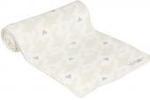 adidas NEO D84800 N GR WT Scarf 骨白色女子心形图案围巾