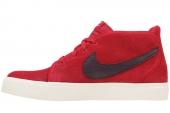 NIKE 555317-660 Toki Leather 体育红色男子休闲板鞋