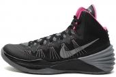 NIKE 599537-005 Hyperdunk 2013 黑粉色男子篮球鞋