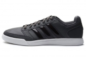 adidas D65375 Bian III 灰黑色男子网球鞋