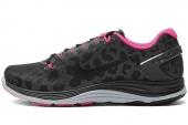 NIKE 615980-006  WMNS Lunarglide+ 5 黑灰色女子跑步鞋