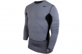 532500-065 Nike Pro Combat Hyperwarm DF Max 灰色保暖紧身衣