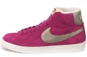 NIKE 518171-606 Blazer Mid Suede Vntg 开拓者深玫瑰红女子休闲板鞋