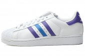 adidas G95791 Superstar II 三叶草白色男子休闲鞋