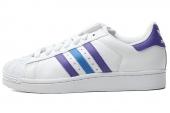 adidas G95791 Superstar II 三叶草白色男子休闲鞋