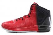 adidas G67400 D Rose 4 罗斯4.0红黑色男子篮球鞋