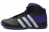 adidas G99331 Commander TD 4 霍华德黑紫色男子篮球鞋