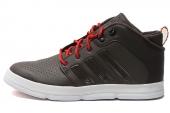 adidas G67372 X-Hale 2 Mid 棕色男子篮球鞋