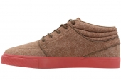 NIKE SB 599637-226  Stefan Janoski Mid BM 军队棕色男子休闲板鞋