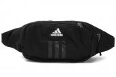 adidas W63530 Waist Bag 黑色男子腰包