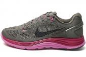 NIKE 599395-205  WMNS Lunarglide+ 5 棕色女子跑步鞋