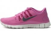 NIKE 580591-500 Free 5.0+ 赤足系列紫色女子跑步鞋