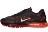 NIKE 621077-006 Air Max 2014 黑红色男子跑步鞋