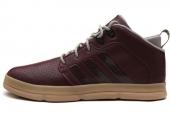adidas G98245 X-Hale 2 Mid 浅栗红男子篮球鞋