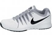 NIKE 631703-101 Vapor Court 费德勒简版白色男子网球鞋