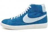NIKE 538282-306 Mid Prm Vntg Suede 开拓者蓝色男子休闲板鞋