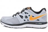 NIKE 599513-008 Dual Fusion Lite 狼灰色男子跑步鞋