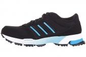 adidas D66720 Trend Marathon TR 1 黑色男子跑步鞋