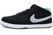 NIKE 6.0 510974-007 Mavrk Mid 3 黑色男子休闲滑板鞋