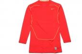 449794-647 NIKE Pro Combat Core 2.0 红色男子长袖紧身衣