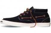 Converse 143007 Jack Purcell Boat Shoe 反绒男款开口笑船鞋