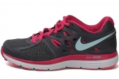 NIKE 599560-008 WMNS Dual Fusion Lit 黑灰色女子跑步鞋