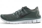 NIKE 579959-301 Free 5.0+ 赤足系列深云母绿色男子跑步鞋