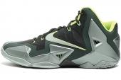 NIKE 626374-300  Lebron XI XDR 詹姆斯11代墨绿色男子篮球鞋