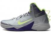 NIKE 615897-004 Zoom Hyperfuse 2013 XDR 银灰色男子篮球鞋
