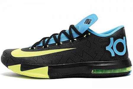 霍华德6代战靴_NIKE 599424-010 KD VI 杜兰特6代黑色男子篮球鞋_147.cn