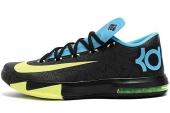 NIKE 599424-010 KD VI 杜兰特6代黑色男子篮球鞋